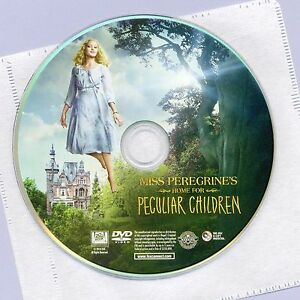 Miss-Peregrine-039-s-Home-For-Peculiar-Children-2016-movie-new-DVD-disc-and-sleeve