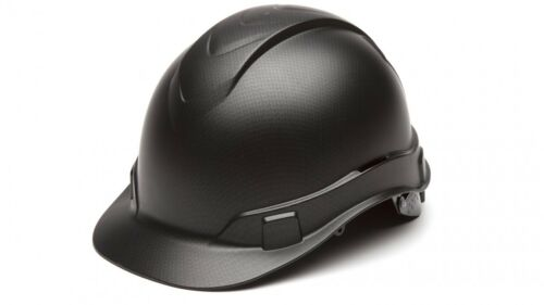 Pyramex HP44117 Graphite Pattern Cap Style 4-Point Standard Ratchet Hard Hat