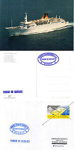 SPANNISH FERRY CIUDAD DE BADAJOZ SHIPS CACHED COVER amp POSTCARD - <span itemprop=availableAtOrFrom>Weston Super Mare, Somerset, United Kingdom</span> - If the item you received has in any way been wrongly described or we have made a mistake regardless of the nature we will pay your return postage costs. If however the - Weston Super Mare, Somerset, United Kingdom