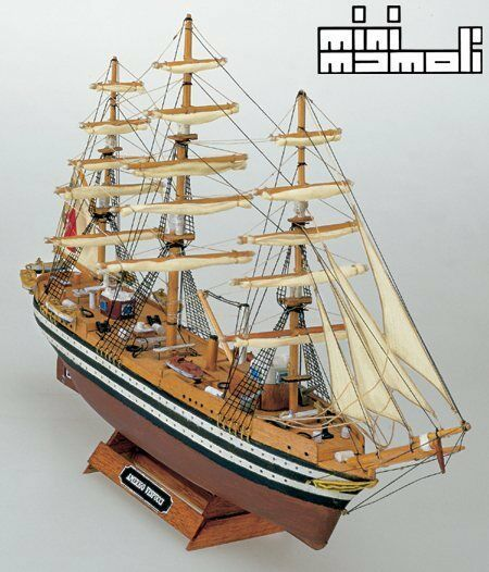 Mini Mamoli Amerigo Vespucci 1 350 MM10 Scale Model Boat Kit