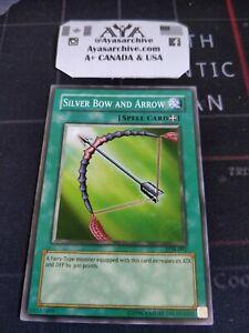 LOB-091 Silver Bow and Arrow Short Print Yugioh