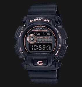 Casio-G-Shock-Black-Stealth-Series-Digital-Black-x-Rose-Gold-Accents-Watch