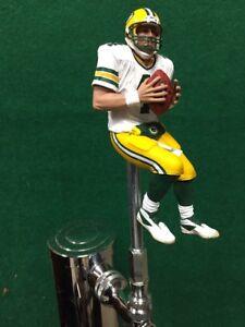 Green-Bay-PACKERS-Tap-Handle-BRETT-FAVRE-Beer-Keg-NFL-Football-white-Jersey