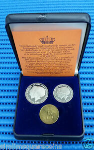 1980-Nederland-Uncirculated-Coin-Set-in-Original-Packing-with-COA