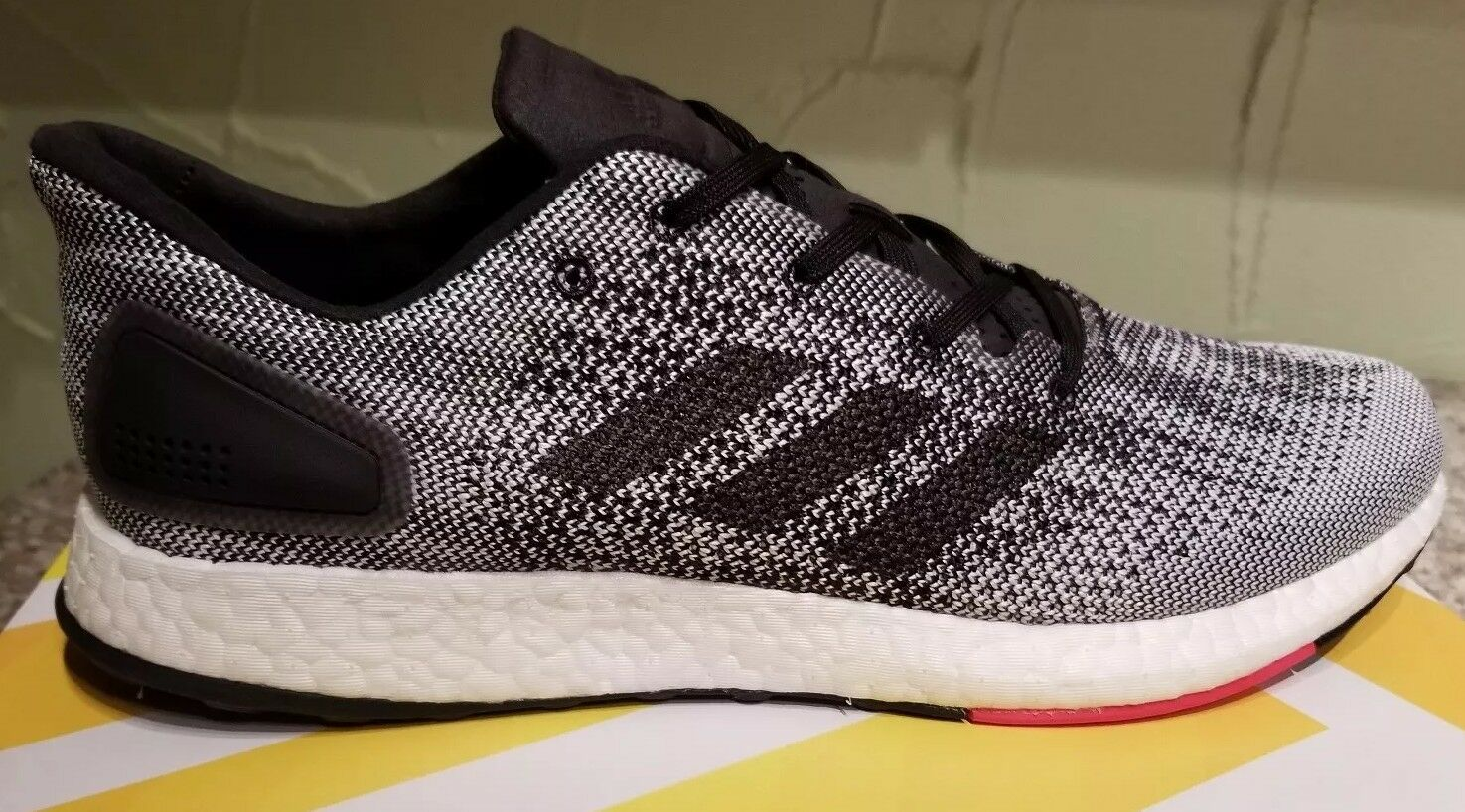 NEW ADIDAS MEN'S PUREBOOST DPR RUNNING SNEAKERS SHOES SIZE 12