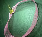 handmade Vintage Lace Collar tattoo bridal Punk Charm Floral Choker Necklace UK