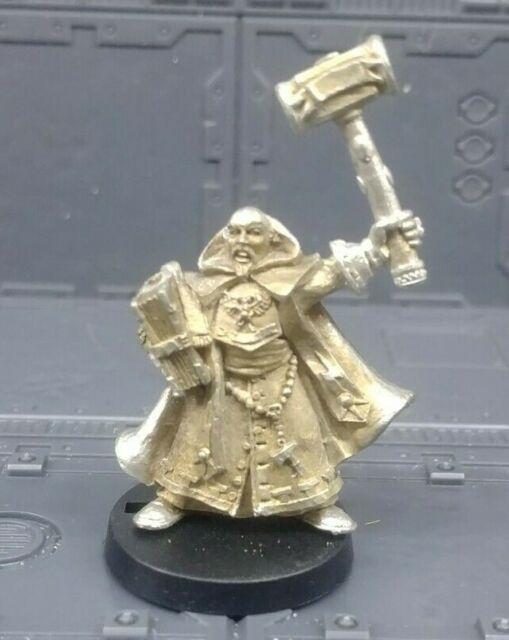 Warhammer Mordheim Sigmarite Priest, Metal OOP