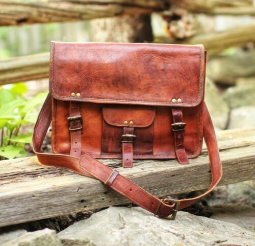 vintage marron à pour Sac bandoulière vintage en hommes cuir QdrBtshCox