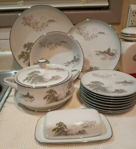 Sansui by Seizan Fine China Japan ~Extra Pieces15 pc