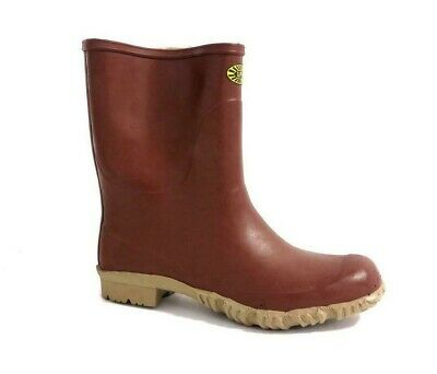 Stivali Superga 7077 tronchetto gomma padus marrone pioggia | eBay