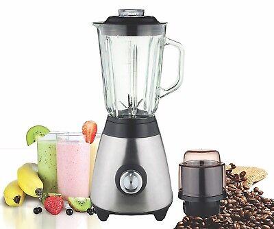 Multi Blender juicer food processor with Glass Jar & a Grinder 500W Best Quality   eBay
