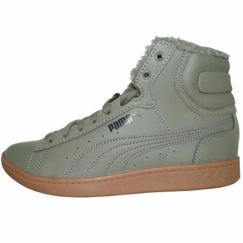 Puma Vikky Mid L Fur Schuhe Sneaker Turnschuhe Sportschuhe oliv 368424 02 WOW