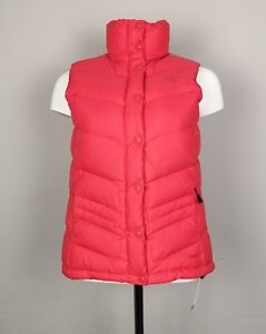 d3744668e7f Women's The North Face 700 Goose Down Pink Body Warmer Gilet Size ...