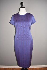 HUGO-BOSS-NEW-398-Dixery-Jacquard-Sheath-Dress-Short-Sleeve-Size-10