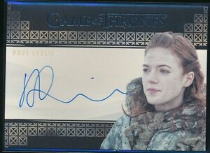 Game-of-Thrones-Valyrian-Steel-Valyrian-Autographs-NNO-Rose-Leslie-as-Ygritte
