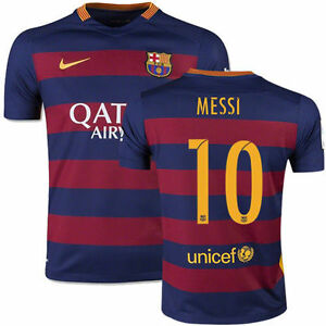 471555c4c Image is loading NIKE-LIONEL-MESSI-FC-BARCELONA-HOME-YOUTH-JERSEY-