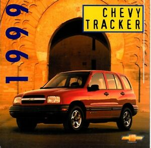 1999 chevrolet geo tracker 14 page original car sales