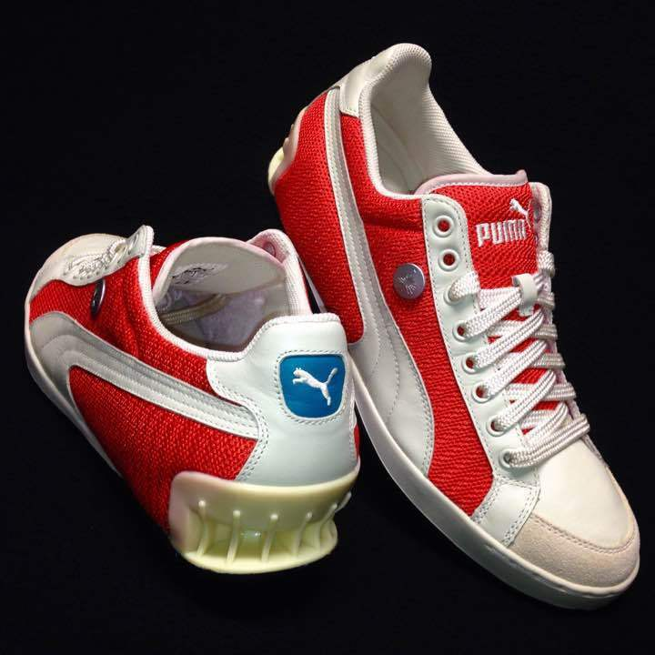 Vintage Rare Puma Mihara Yasuhiro MY 20 Orange Sneaker From JAPAN Free shipping