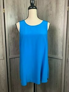 Women-039-s-Daniel-Rainn-NWT-Stitch-Fix-100-Silk-Blouse-Sleeveless-Retail-55-00