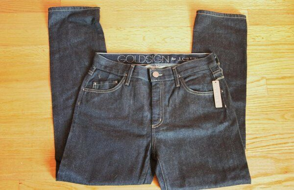 goldsign for J.Crew Jeane Jean in Sunset Wash Size 26 2 Dark Jeans  228