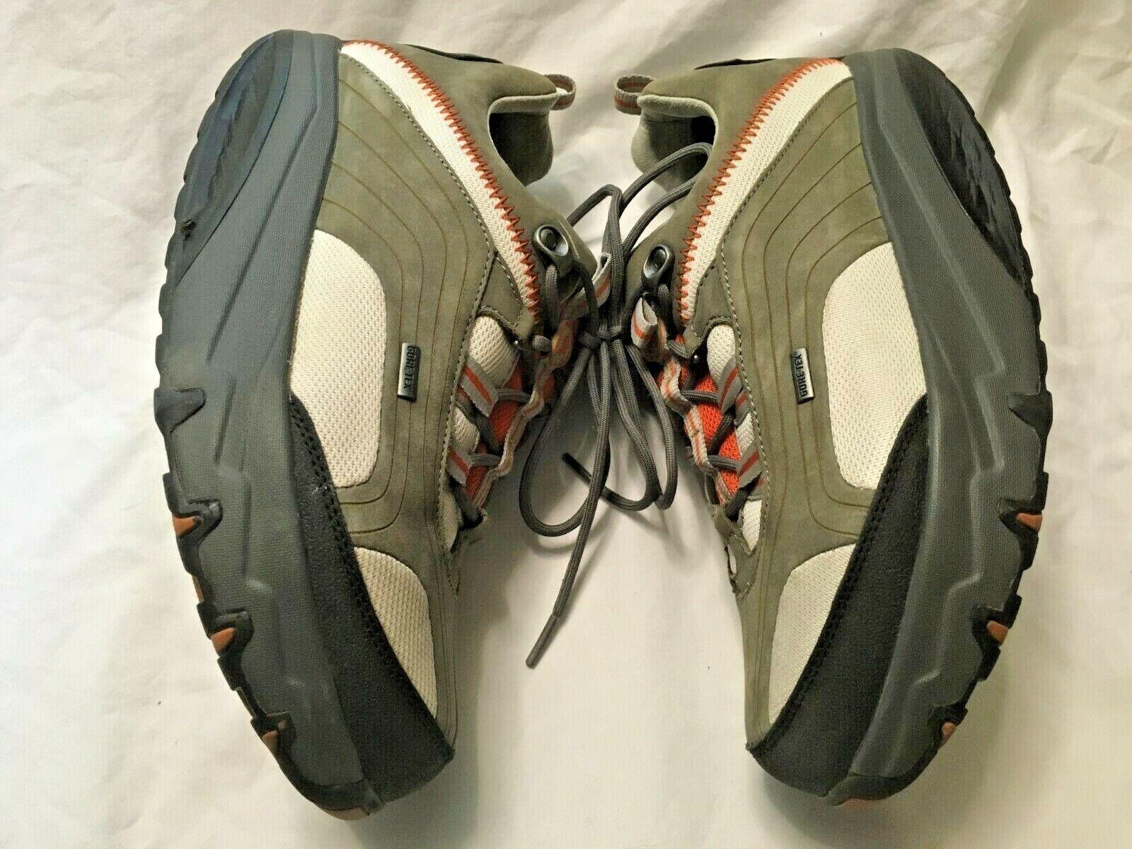 MBT Chapa Pumpkin Athletic zapatos (Gore-Tex Waterproof, High Rocker Sole) Talla 8