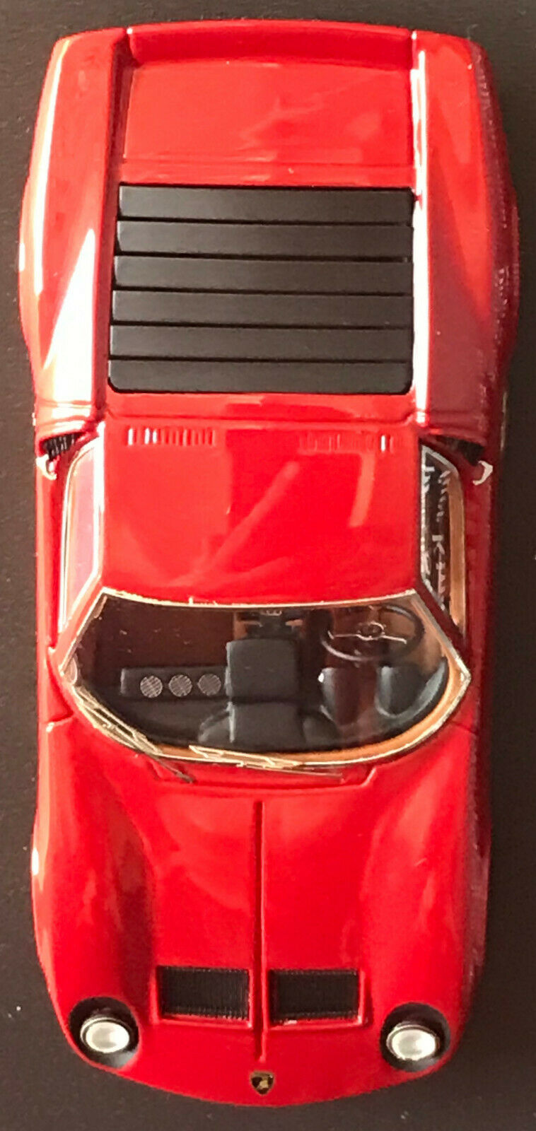 Lamborghini Miura SV  1971   LookSmart  1 43  LS353A  rouge   or