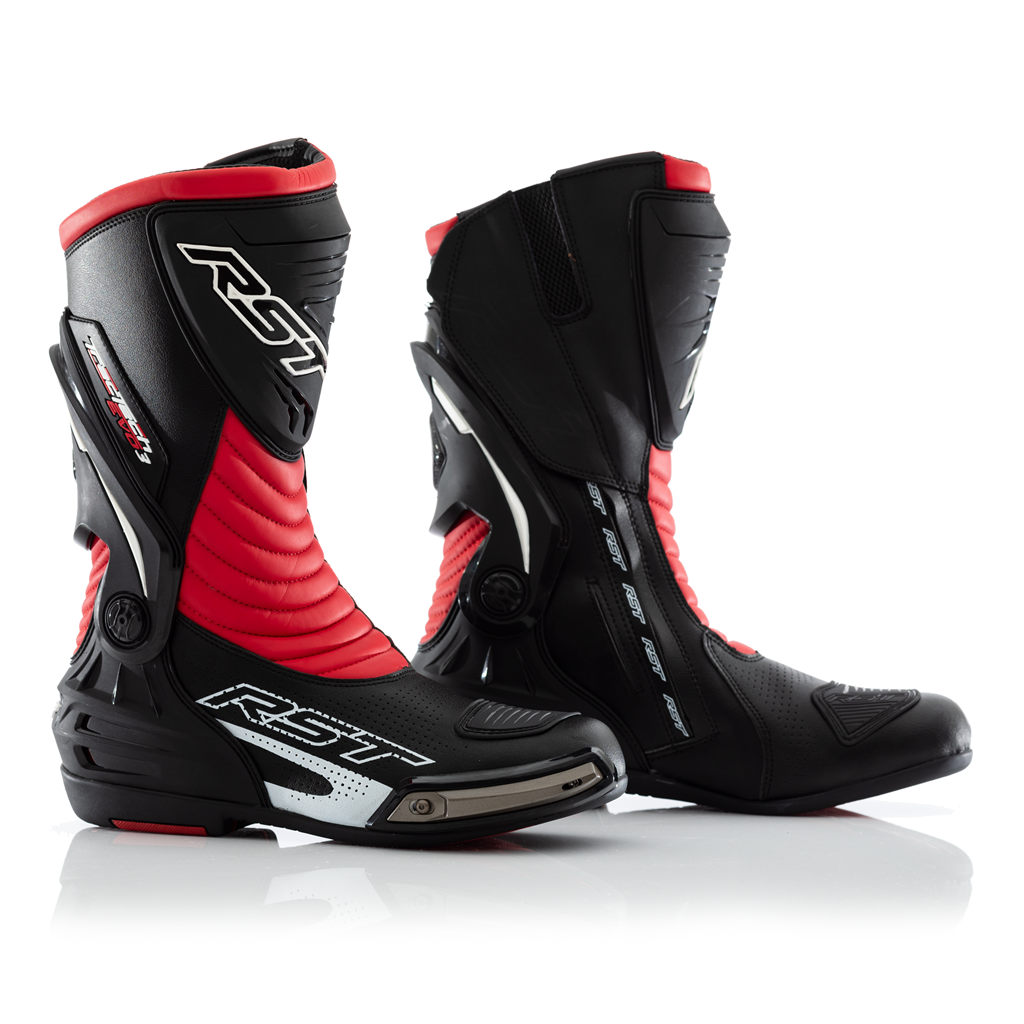 RST 2101 Tractech Evo III Sport CE Mens Motorcycle Boot In Black/Red