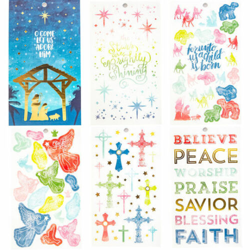 Religious Sticker Book By Recollections™ 528494 NEW