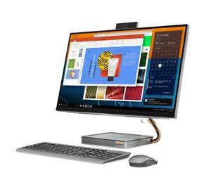 """LENOVO IdeaCentre AIO 5i 27"""" All in One PC Intel Core i5 1TB HDD 256GB SSD Grey"""