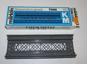 Inhalt 10 Pfeiler für Metall Brücken 6mm TOP Marklin Märklin HO 7065 .2 Packung