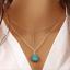 Fashion-Bohemain-Pendant-Chain-Necklace-For-Women-Multi-Layer-Choker-Statement thumbnail 8