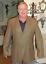 Tommy-Hilfiger-Mens-Size-44L-Brown-Plaid-Wool-3-Button-Blazer-Suit-Coat-Jacket