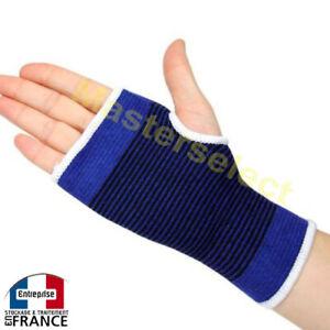 457a6772383b9 2 x Gaine extensible de maintien soutien pour protection main paume ...