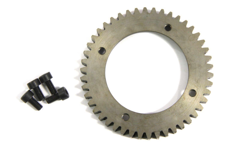 HT-acciaio ruota dentata,  46 denti-y0191-traccia Gear  sport caldi