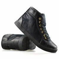Ladies Womens New Flat Lace Up Hi Top Trainers Plimsolls Ankle Boots Shoes Size