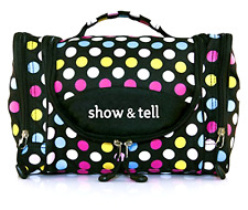 Cosmetic Bag MakeUp Organizer Hanging Toiletry Pouch Case Storage Travel Women !