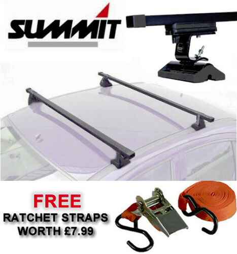 PAIR OF CAR ROOF RACK RAILS BARS BMW 1 SERIES 3 SERIES TOURING COUPE 5 SERIES X1