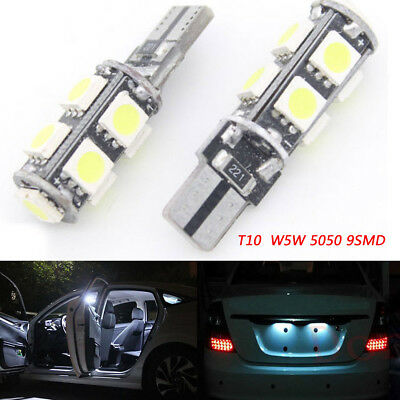 For BMW 3 Series E90 501 W5W Red Interior Door Bulb LED Trade Price Light