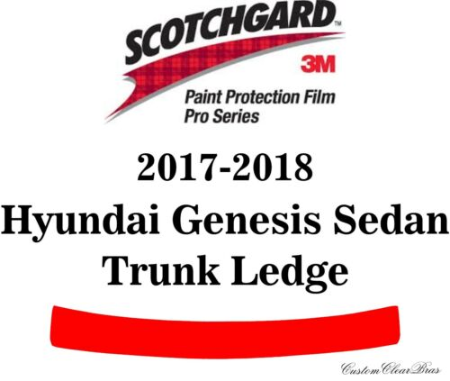 3M Scotchgard Paint Protection Pro Series Fits 2017 2018 Hyundai Genesis G90