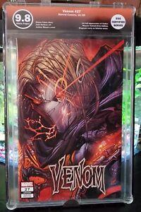 Venom #27 Meyers Cover Error Variant EGS 9.8 (not cgc)1st full app. Codex! RARE
