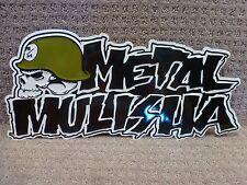 "Metal Mulisha Aluminum Display 17 inch x 8 inch /""Iconoclast /"" Free Shipping"