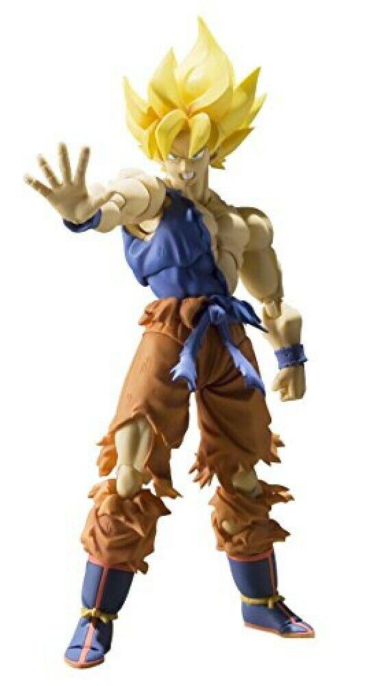 SH Figuarts Super Saiyan Son Goku Super Warrior Awakening Ver. Movable Figure