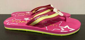 TOM Tailor Rosa Infradito * dimensioni 6 * NUOVO con difetti