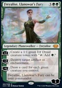 MTG Freyalise, Llanowar's Fury Commander Collection Green   NM