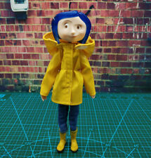 7 Coraline Pvc Action Figure Model Yellow Raincoat Ver Bendy Doll F Collection Ebay