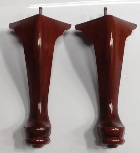 """Queen Anne Plastic Furniture Feet Chair Sofa 4 Legs 10/"""" tall #0948 FREE SHIPPING"""