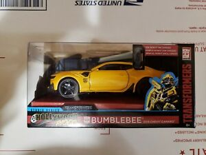 Jada-Metals-Hollywood-Rides-Transformers-Bumblebee-2016-Chevy-Camaro-NIB