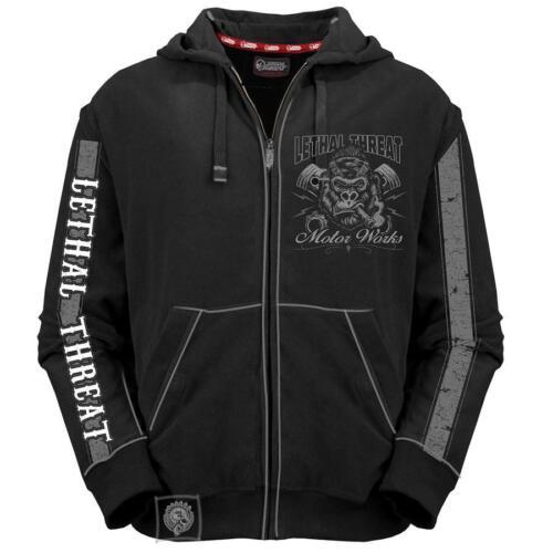 Gorille Sweat shirt À Brutal Capuche Lethal Threat Force Hd84022 Motard PnStqUSx