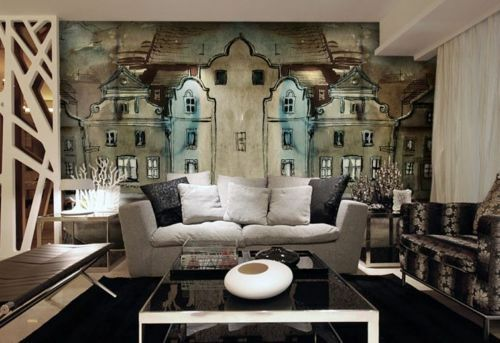 3D House painting 907 WallPaper Murals Wall Print Decal Wall Deco AJ WALLPAPER