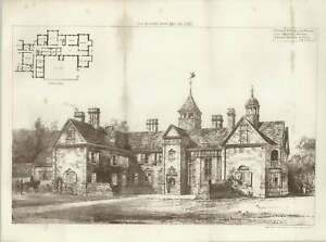 1887-Dunley-House-Near-Dorking-For-Admiral-Maxse-Ernest-George-And-Peto